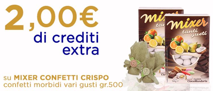 mixer confetti CRISPO morbidi gr.500
