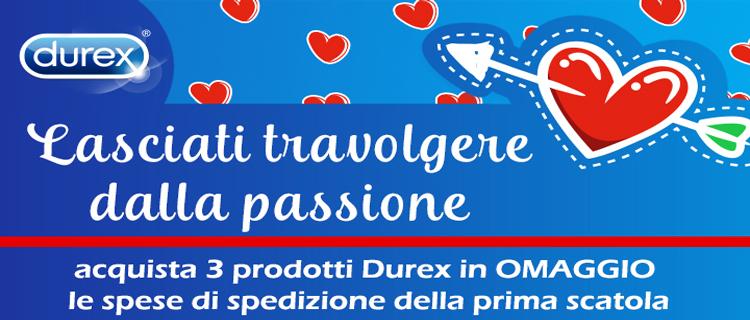 Durex spese gratis