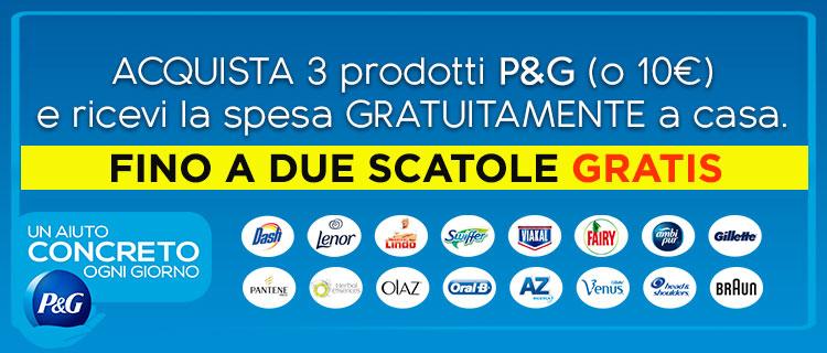 SPESE GRATIS P&G