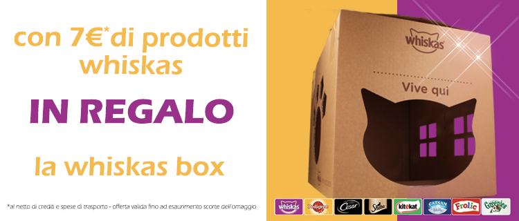 whiskas box
