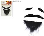 sopracciglia+baffi+barba pirati ro006227