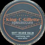 gillette king balsamo barba ml.100
