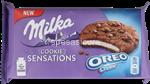 milka cookie sensations oreo creme gr.156
