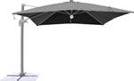 ombrellone c/led 3x3 grigio om807223