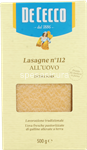 de cecco lasagna timballo uovo gr.500
