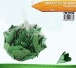 decorazione legno 150gr verde 7760