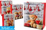 busta regalo orso 42x31x12cm 446731