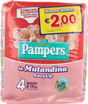 pampers easy up maxi pz.16 + b\s 2,00