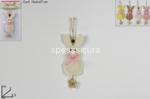 appendino coniglio legno c/fiore ro01012