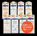 alpro box unsweet 8x1l