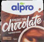 alpro dessert cioccolato fondente 4x125gr