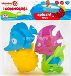gommolosi pesci 4pz 05391
