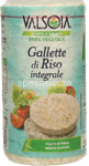 valsoia rys gallette riso integr.gr.100