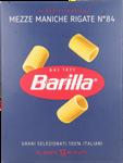 barilla 084 mezze maniche rigate gr.500