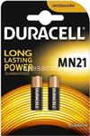 duracell long power batteria mn21 12v