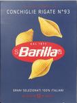 barilla 093 conchiglie rigate gr.500