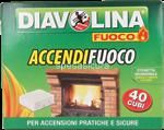 diavolina accendifuoco pz.40
