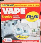 vape liquido ricariche insetticide 30+30 notti 2 ricariche