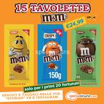 box 15 tavolette m&m's