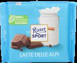 ritter latte delle alpi 30% cacao gr.100