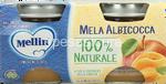 mellin omogeneiz mela/albicocca gr.100x2