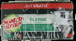 scotch-brite strofinetto+spugna pz.3