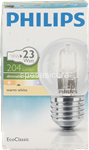 philips alogena sfera 18w-23w e27*