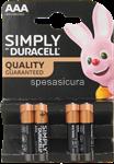 duracell plus power ministilo aaa du0200