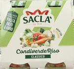 sacla'condiverde riso classico gr.290x2