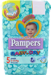 pampers baby dry junior pz.17