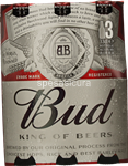 bud birra bottiglia 5° ml.330x3