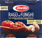 barilla sugo  ragu'funghi gr.180x2