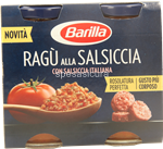 barilla sugo  ragu'salsiccia gr.180x2
