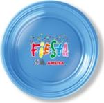 l.color azzurro piatti frutta 170p 50pz