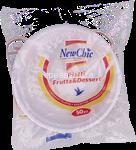 new chic piatto frutta pz.50 gr.250