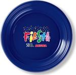 l.color blu piatti frutta 170p 50pz