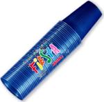 l.color blu bicchieri 200r 50pz