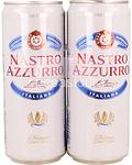 nastro azzurro birra latt.5,1° ml.330x2