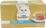 gourmet gold tortini tonno/salm.gr.85x4