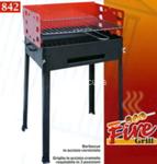 barbecue fire grill 40x30x75cm