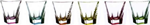fusion colour bicchieri acqua 6pz 259940