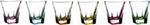 fusion colour bicchieri vino 6pz 24162$$
