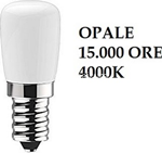 led lampada peretta e14 2w 15000ore cool