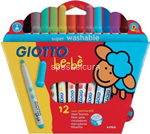giotto be-be superpennarelli 12pz 466700
