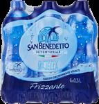 s.benedetto acqua frizzante ml.500x6