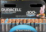 duracell ultra power aa b12