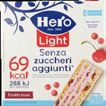hero light muesly  frutti rossi gr.120