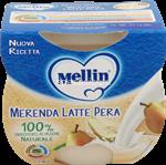 mellin merenda  latte pera gr.100x2