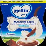 mellin merenda  latte cacao gr.100x2