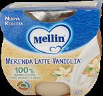 mellin merenda  latte vaniglia gr.100x2
